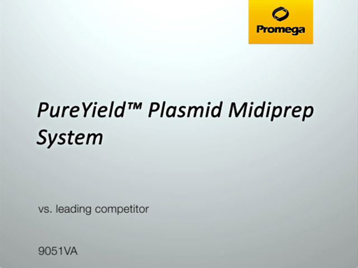 PureYield Midipreps vs Leading Competitor Video